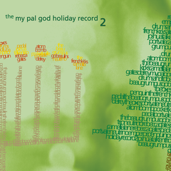 "Various Artists : ""The My Pal God Holiday Record 2"" Cd"