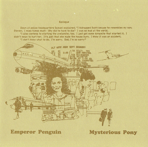 "Emperor Penguin : ""Mysterious Pony"" Cd"