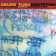 "Drums & Tuba : ""Box Fetish"" Cd"