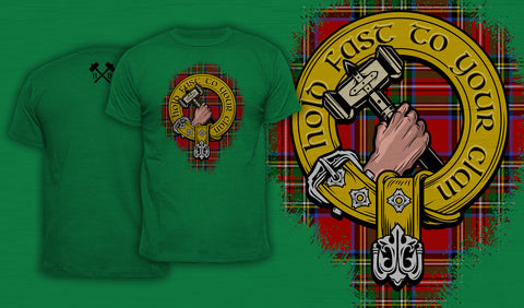 Hold Fast To Your Clan - Men's T-Shirt Green