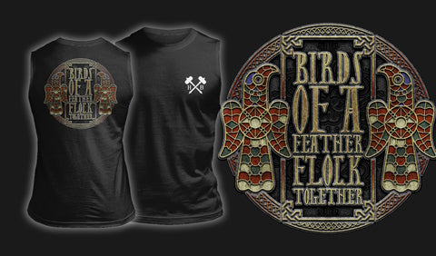 Birds Of A Feather Flock Together - Muscle Shirt Black