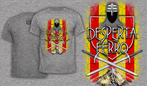 Desperta Ferro - Men's T-Shirt Heather Gray