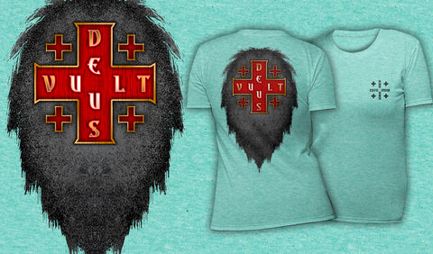 Deus Vult - Women's T-Shirt Heather Mint