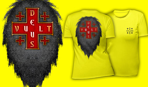Deus Vult - Women's T-Shirt Yellow