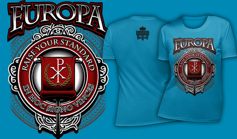 Europa Raise Your Standard - Women's T-Shirt Ocean Blue