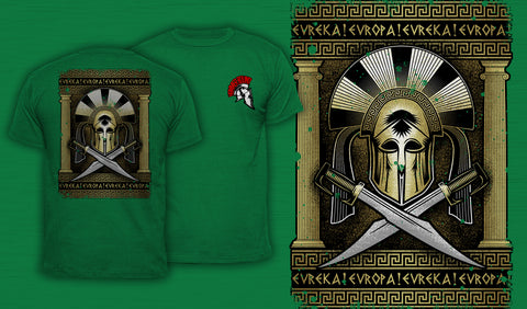 Eureka! Europa! - Men's T-Shirt Green