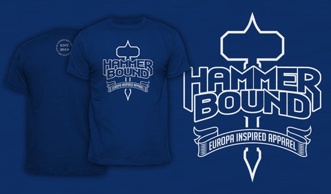 Hammer Bound - Men's T-Shirt Blue