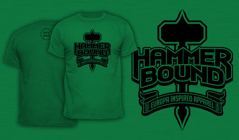 Hammer Bound - Men's T-Shirt Green