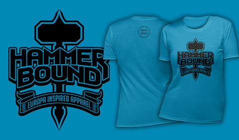 Hammer Bound - Women's T-Shirt Ocean Blue
