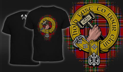 Hold Fast To Your Clan - Men's T-Shirt Black