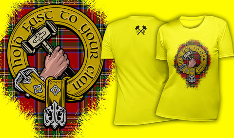 Hold Fast To Your Clan - Women's T-Shirt Yellow