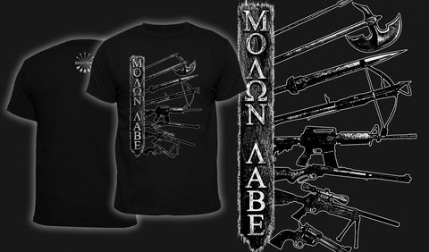 Molon Labe - Men's T-Shirt Black