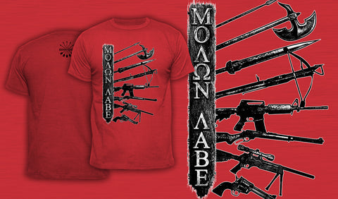 Molon Labe - Men's T-Shirt Red