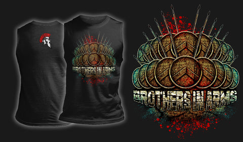 Brothers In Arms - Muscle Shirt Black