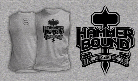 Hammer Bound - Muscle Shirt Heather Gray