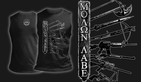 Molon Labe - Muscle Shirt Black