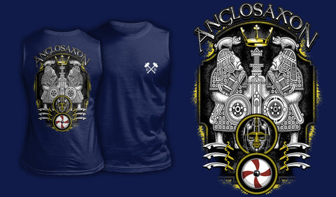 Anglo-Saxon - Muscle Shirt Navy