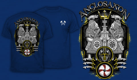 Anglo-Saxon - Men's T-Shirt Blue