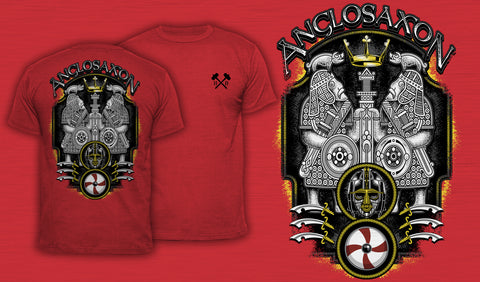 Anglo-Saxon - Men's T-Shirt Red