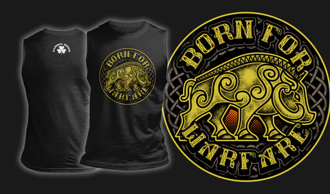 Born For Warfare - Muscle Shirt Black