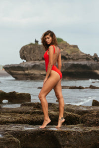 BOND-EYE - THE MARA ONE PIECE/RED