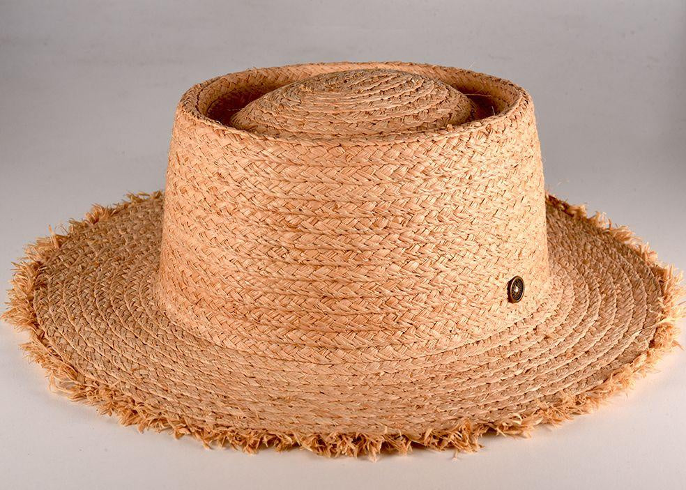 THE SEEKER WIDE BRIM/NATURAL
