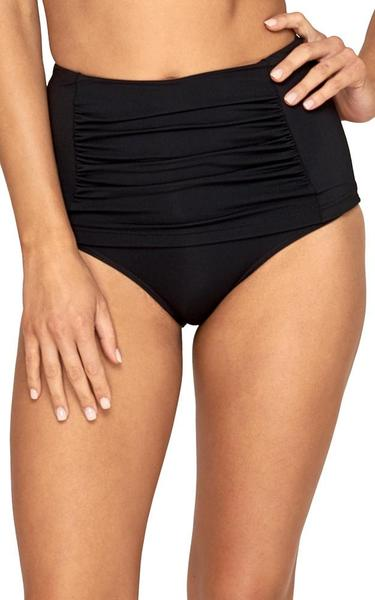 JETS - High Waist Bikini Bottoms/Black