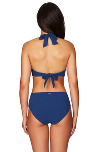 SEA LEVEL - RIVIERA RIB MID BIKINI PANT/OCEAN BLUE