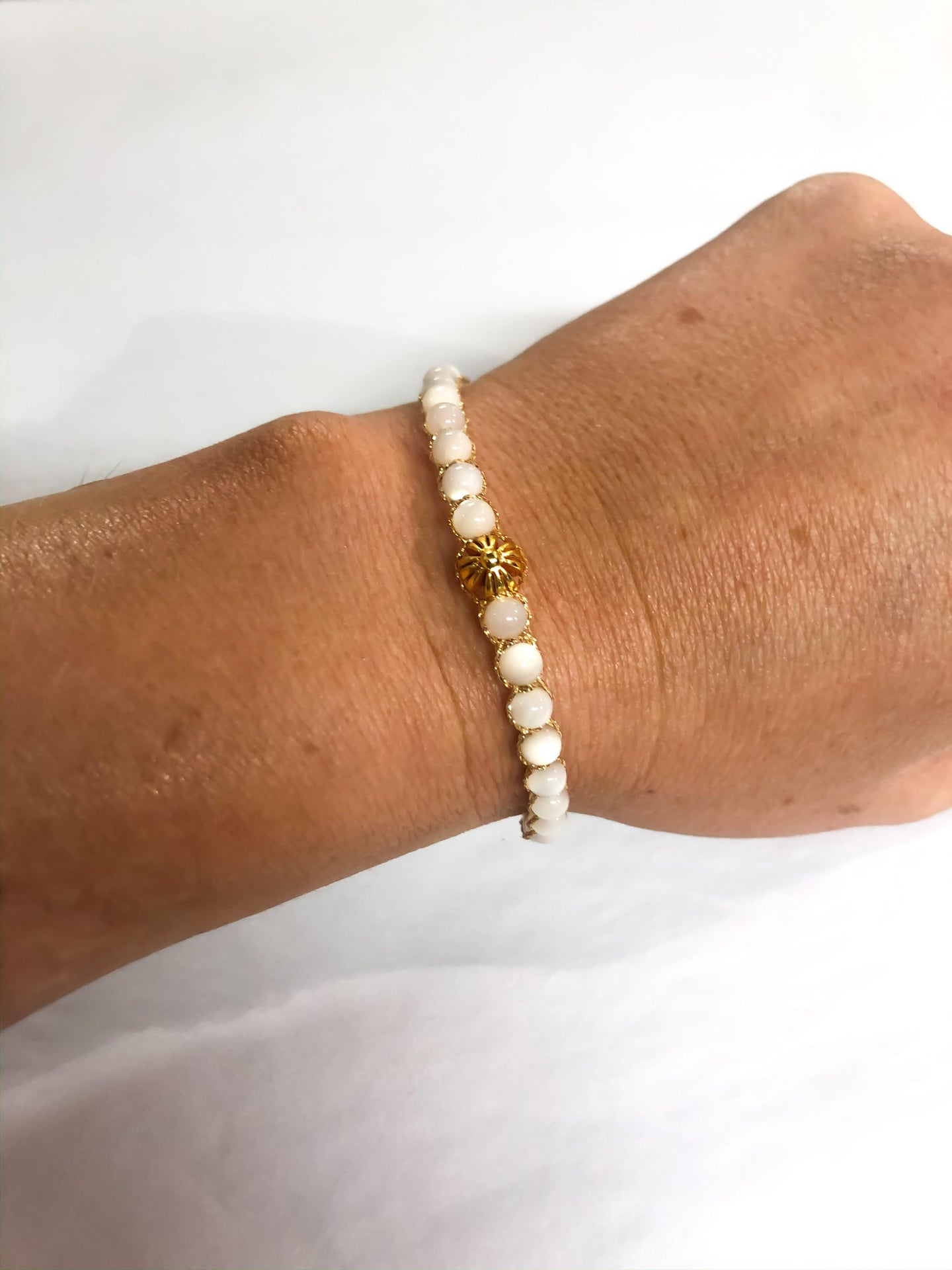 SEA SHELL CRYSTAL BRACELET LARGE