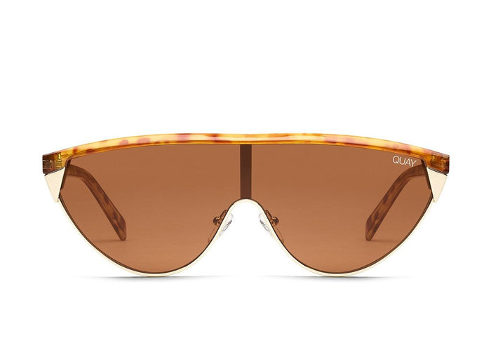 QUAY - GOLDIE ORANGE TORT/BROWN LEN