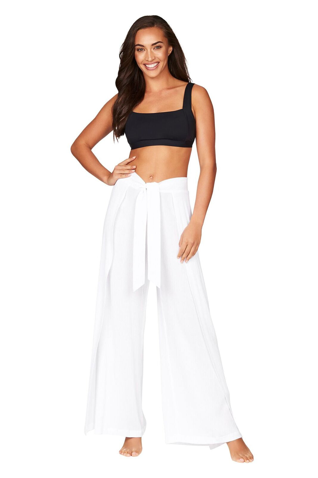 SEA LEVEL - WRAP PANT/WHITE