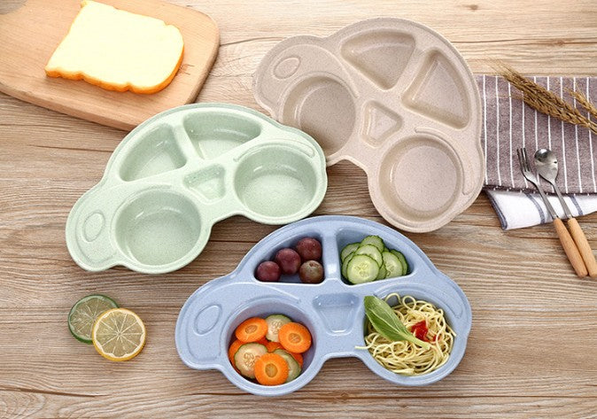 ECO-Friendly Car Bamboo Dinnerware Plates