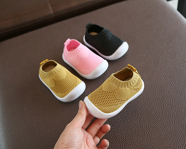 Mesh Sport First Infant Walking Shoes