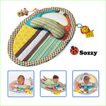 Baby Early Educational Activity Mats With Mirror Musical Toys 0-12 Months - StrawberryDaze