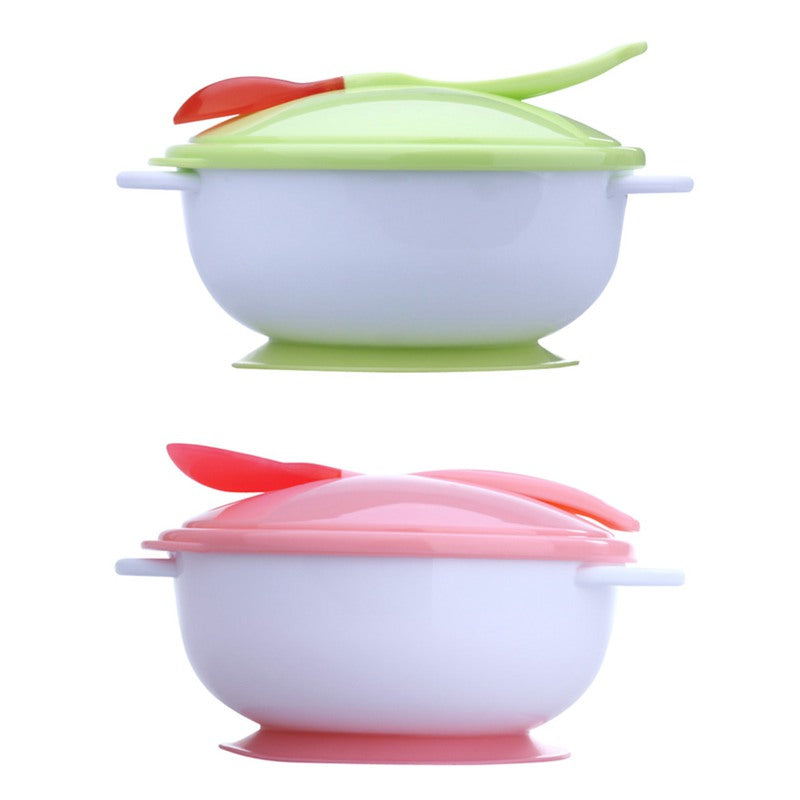 Feeding Suction Bowl Baby Tableware Set - StrawberryDaze