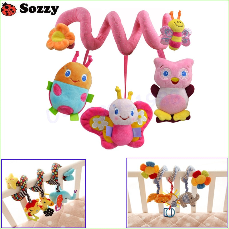 Sozzy Musical Stars Multi-functional Hanging Educational Toys Rattles for Crib, Stroller, Car 1pcs - StrawberryDaze