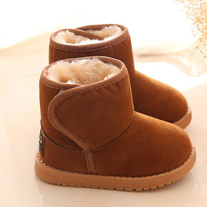 Winter Style Cotton Warm Snow Baby Girl Boots - StrawberryDaze