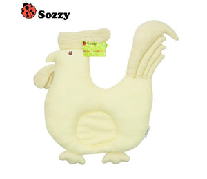 Sozzy Cute Cotton Animal Memory Foam Pillow For Infants - StrawberryDaze