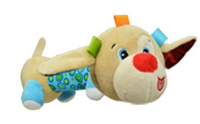 Sozzy Mirror Plush Hand Bells & Grasping Rattle Stuffed Toy - StrawberryDaze