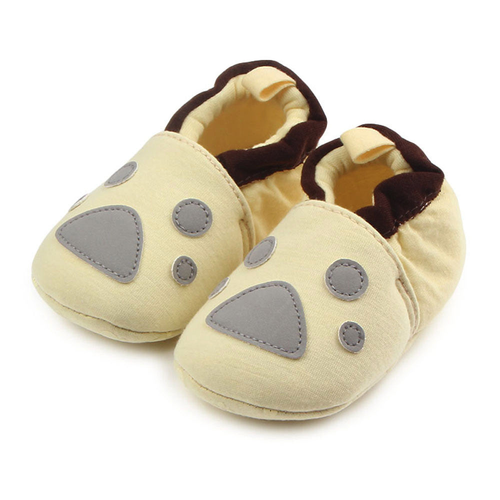 First Walkers Baby Shoes Round Toe Flats Soft Slippers