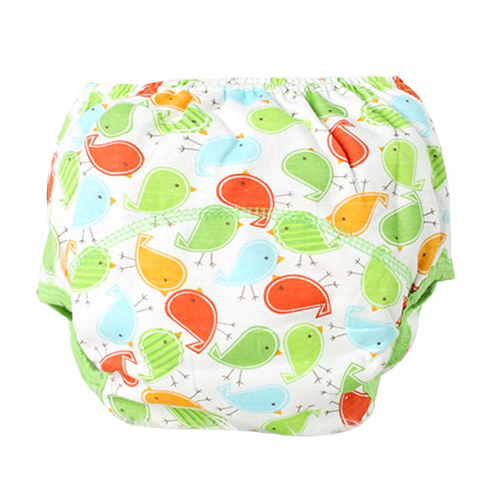 Baby Cotton Diaper Reusable Cloth Diaper Washable Nappies   0-18M - StrawberryDaze