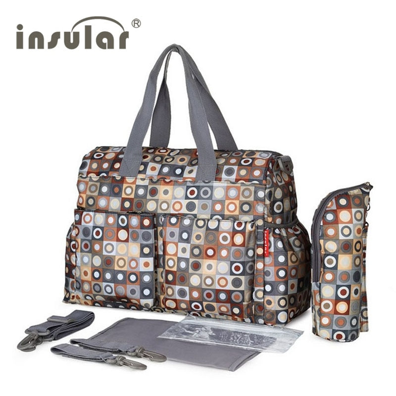 Mother Shoulder Waterproof Diaper Bag