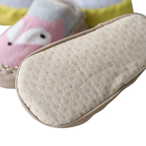 First Walker Soft Sole Shoes with PU Leather