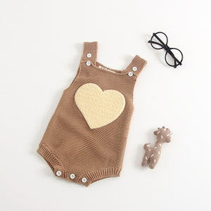 Unique Knitted Baby Romper - StrawberryDaze