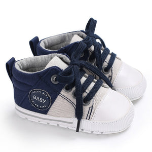 First Walkers Canvas Sports Sneakers