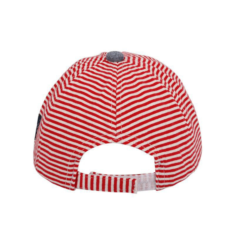 Baby Striped Hat - StrawberryDaze