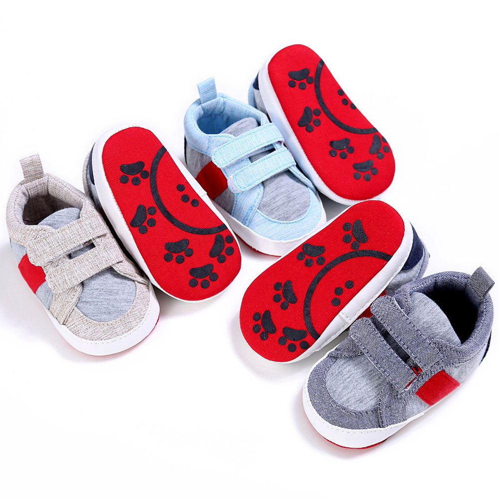 Baby Shoes Boy Girl Newborn Crib Soft Sole Shoe Sneakers - StrawberryDaze