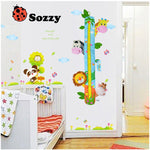 Sozzy Children Height Chart Measure Wall Decoration Cartoon Animal  Room Decoration - StrawberryDaze