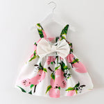 Keelorn 2018 Baby Floral or Fruit Print Dress 6-24M
