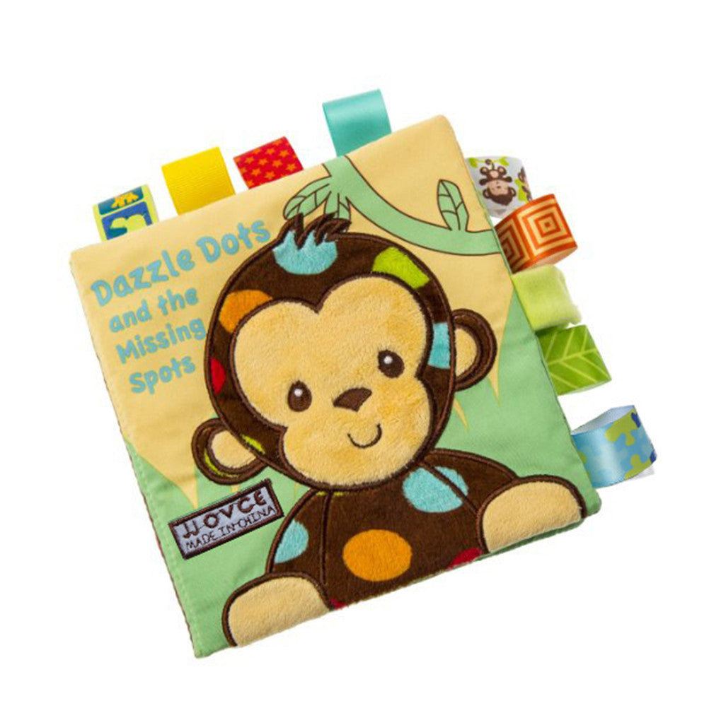 Cute Cloth Crinkly Animal Embroidery Educational Toy Bright Color Soft Book
